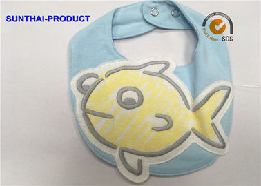 چین 3D Big Fish Baby Bibs And Chats طراحی پرطرفدار Double Layer Applique Baby Bibs کارخانه